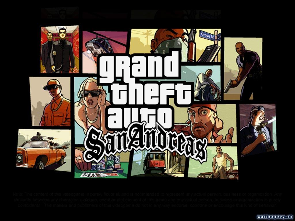 Качественный русификатор GTA San Andreas.